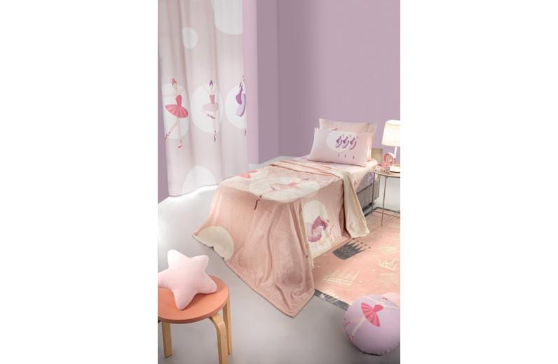 Κουβέρτα ultrasoft παιδική (160Χ220) BALLERINA, SAINT CLAIR