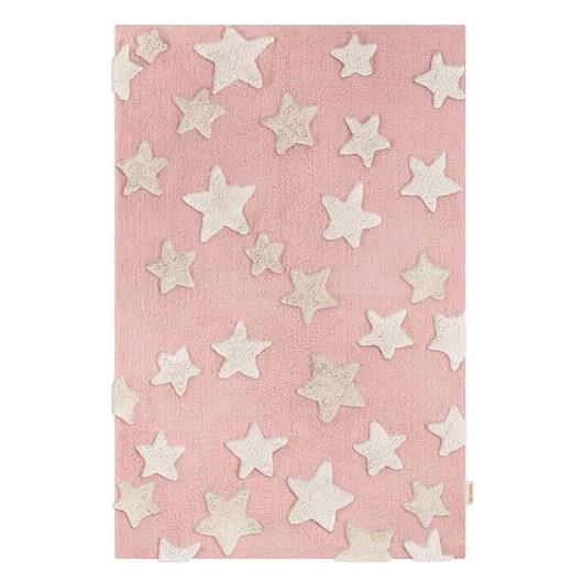 Χαλί Night Sky Pinky 100% βαμβακερό by Guy Laroche 130x180 εκ.
