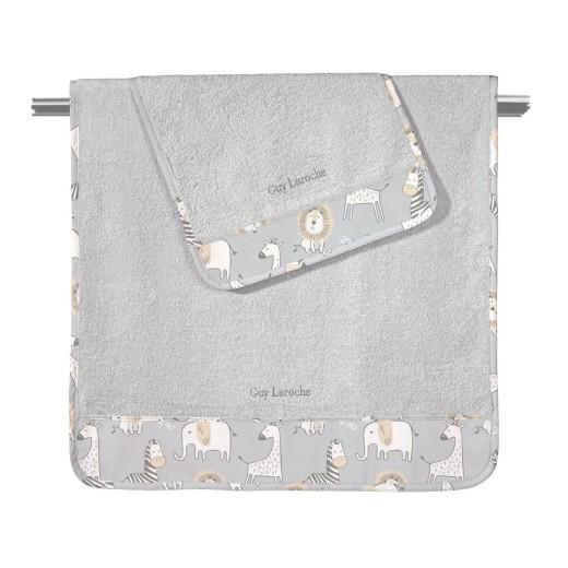 Πετσέτες BEBE Zoo ΣΕΤ 2τεμάχια (40Χ60-70Χ130) Guy Laroche