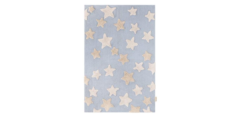 Χαλί Night Sky Light Blue 100% βαμβακερό by Guy Laroche 100x150 εκ.