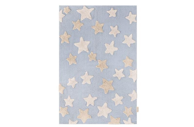 Χαλί Night Sky Light Blue100% βαμβακερό by Guy Laroche 130x180 εκ.