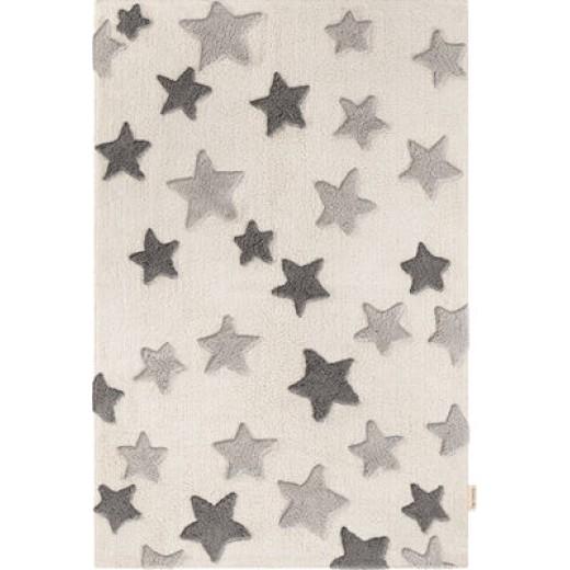 Χαλί Night Sky Grey 100% βαμβακερό by Guy Laroche 130x180 εκ.