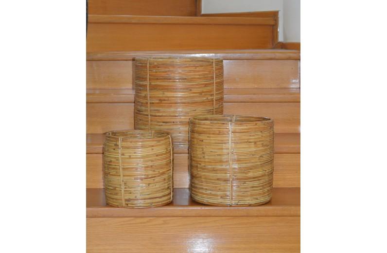 Καλάθι μπαμπού [Διαθέσιμο σε 3 μεγέθη]