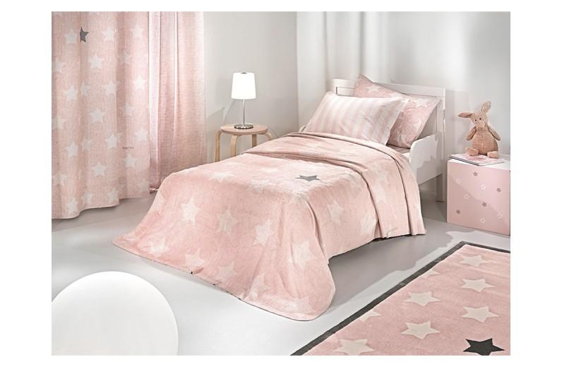 Κουβέρτα Ultrasoft Pirineo Pink 160X220 εκ. by Saint Clair