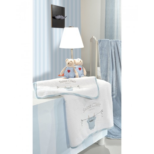 Σετ πετσέτες βρεφικές 2 τμχ. Jimmy by Saint Clair