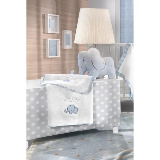 Σετ πετσέτες βρεφικές 2 τμχ. Africa Blue by Saint Clair