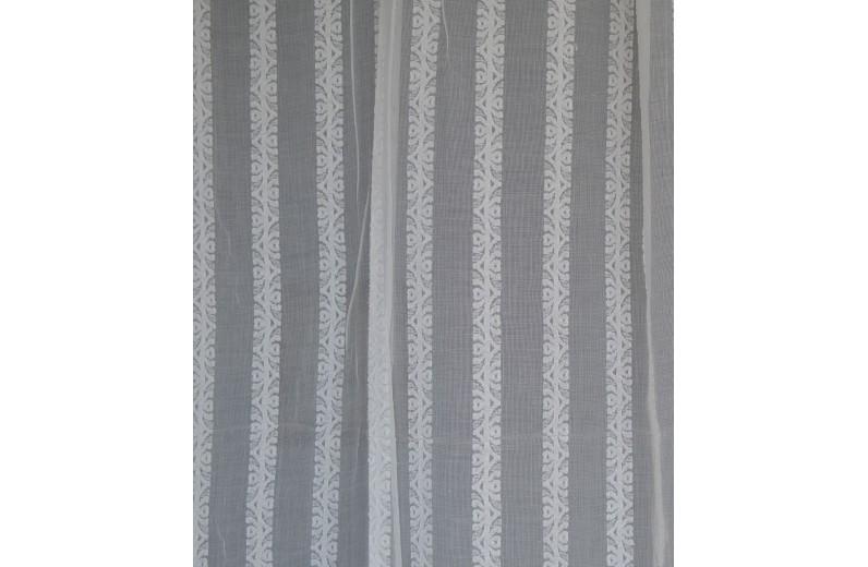 Δαντέλα βαμβακερή Σκωτίας Φ.1,60 μ. Stripes