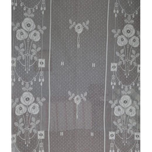 Δαντέλα βαμβακερή Φ.1,20 μ. Roses
