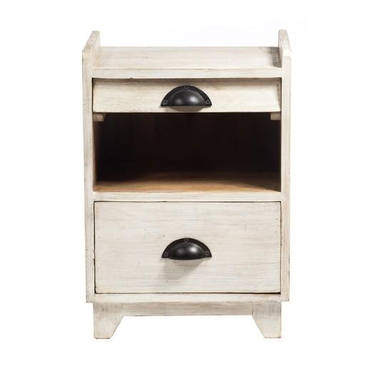 Κομοδίνο ξύλινο - 36cm  x 33cm  x 51cm