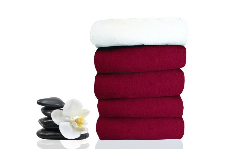 Πετσέτα κομμωτηρίου-spa μπορντώ INDANTHRENE 50X90