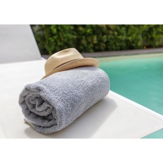 Πετσέτα πισίνας-spa γκρι 80X160