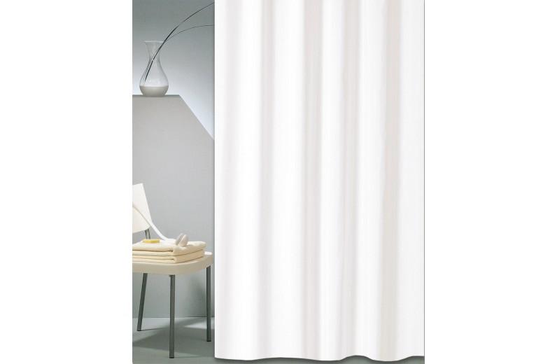 Κουρτίνα μπάνιου ξενοδοχείου SOLID λευκό 240X200