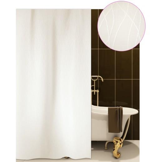 Κουρτίνα μπάνιου ξενοδοχείου BERLIN μπεζ 180X180