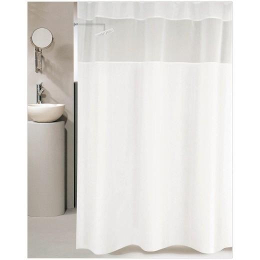 Κουρτίνα μπάνιου ξενοδοχείου SNOW 180X180
