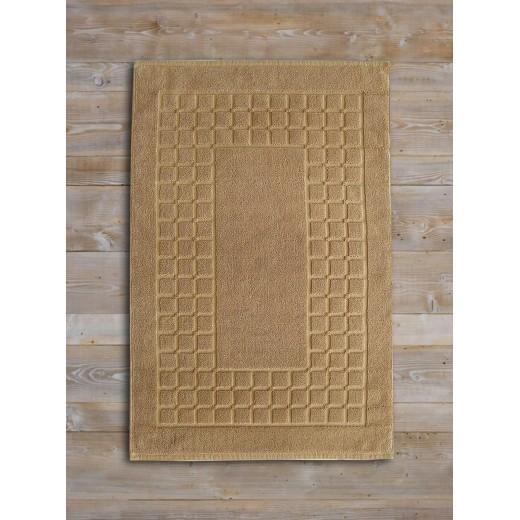 Ταπέτο-πετσέτα CHESS 50X75 μπεζ 100% βαμβακερό