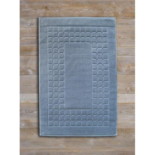 Ταπέτο-πετσέτα CHESS 50X75 γκρι 100% βαμβακερό