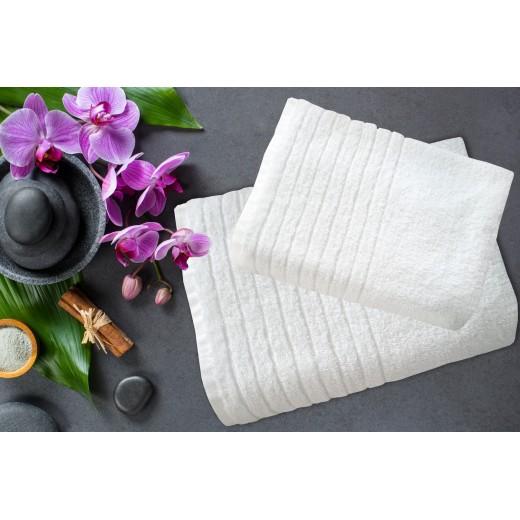 Πετσέτα λευκή ELITE LINE 550gr/m2 70X140