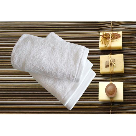 Πετσέτα λευκή ELITE LINE 500gr/m2 30X50