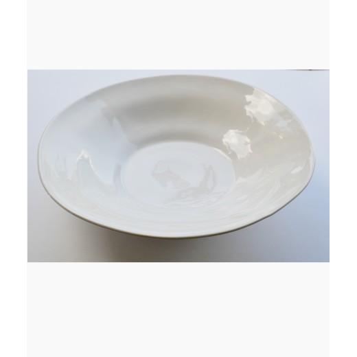 Σαλατιέρα χειροποίητη stoneware μεγάλη 42 εκ.
