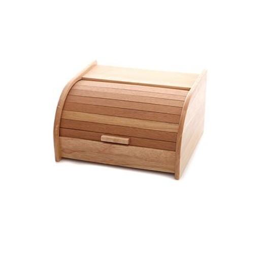 Ψωμιέρα ξύλινη σε φυσικό χρώμα 31x26x18 εκ.