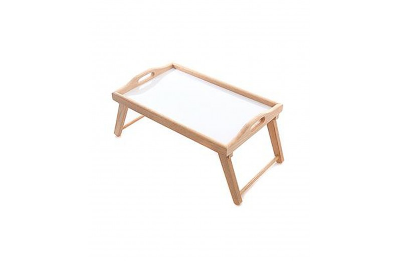 Δίσκος με πόδια ξύλο/μελαμίνη 56x36x3 εκ. Lampiris interiors